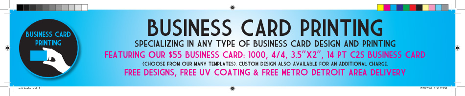 Business Card Printing Detroit
